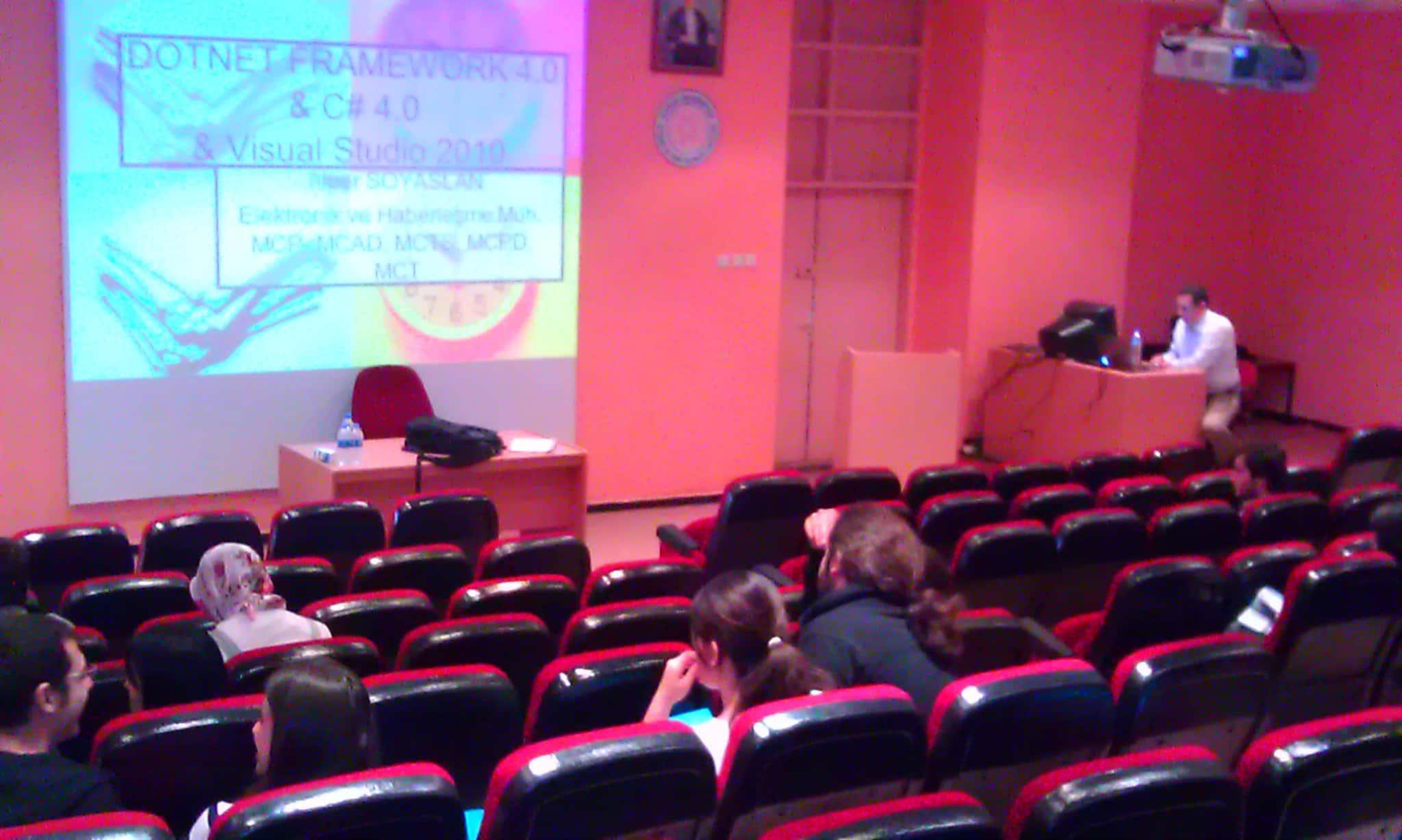 BilgiYazan-Uludağ Üniversitesi Ekonometri Bölümü Yazılım Semineri