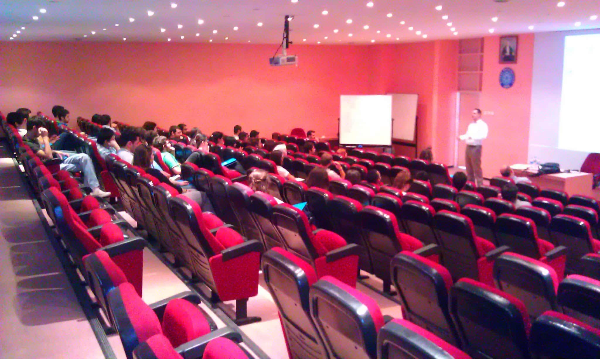 BilgiYazan-Yazılım Uzmanlığında Kariyer Semineri U.Ü Ekonometri Bölümü